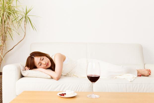 寝酒は逆効果
