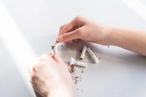 たばこを止める
