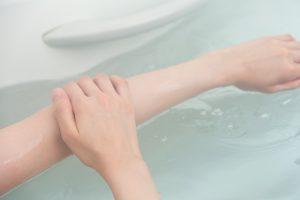 運動できない人は入浴する