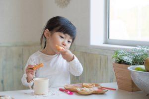 2.トリプトファンの含まれる朝食を食べさせる