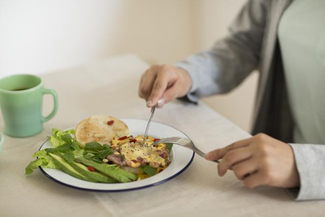 体内時計を整えるためにも朝食をしっかり食べる