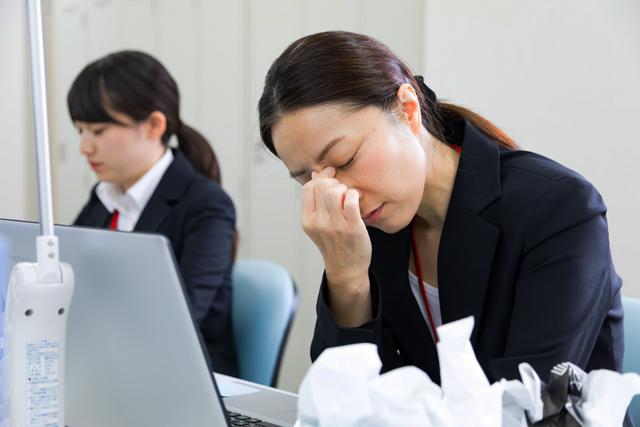 目の疲れ、ストレスでも自律神経が乱れ、睡眠不足に・・・