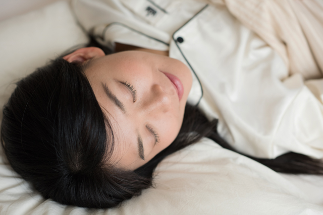 一番大切なことは自分がしっかり安眠できることです。
