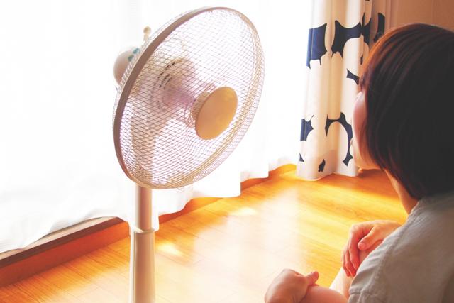扇風機だけを使う場合のコツ