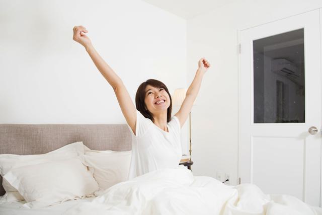 仰向けに寝ているのに息苦しくて眠れない場合は横向きに眠って気道を確保するようにしてみましょう